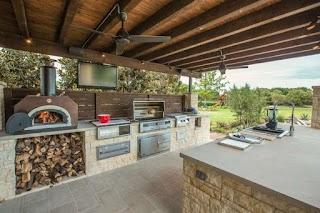 Outdoor Summer Kitchen Ideas Beautiful for Freshomecom