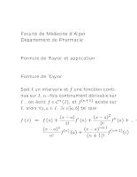 4-Formule de Taylor et Application.pdf