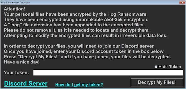 Hog ransomware