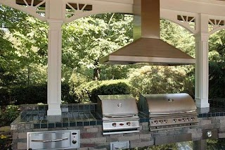 Outdoor Kitchen Grill Hood How to Transform Your Yard Into an Living Space Free Guide