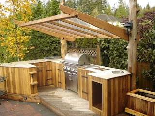 Small Outdoor Kitchens 95 Cool Kitchen Designs Digsdigs