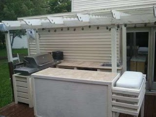 Do It Yourself Outdoor Kitchen New Outor Kchen Home Projects From Ana Whe
