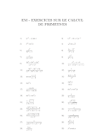 EXERCICES SUR LE CALCUL DE PRIMITIVES (1).pdf