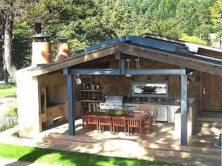 Enclosed Outdoor Kitchens 33 Amazing Dream Homes Kitchen Plans