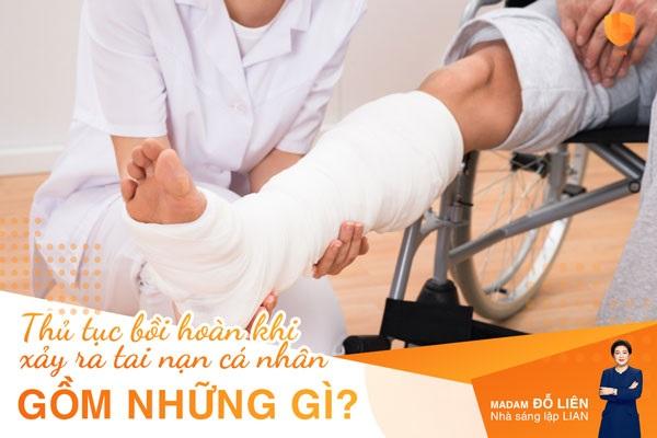 Thủ tục bồi thường cho sản phẩm bảo hiểm tai nạn cá nhân gồm những gì?