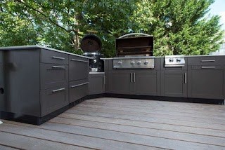 Stainless Steel Outdoor Kitchen Cabinets Where to Purchase Custom