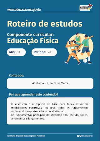 ESPORTE DE MARCA ATLETISMO (DEFINIÇÃO, ORIGEM E HISTÓRIA, CLASSIFICAÇÃO, ESPAÇO, REGRAS E FUNDAMENTO