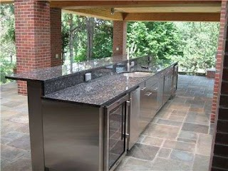 Stainless Outdoor Kitchens Kitchen Cabinets Steel The New Way Home Decor