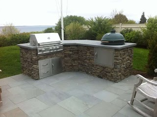 Outdoor Kitchen with Charcoal Grill S Built in Stainless Steel Bbq Cabinets