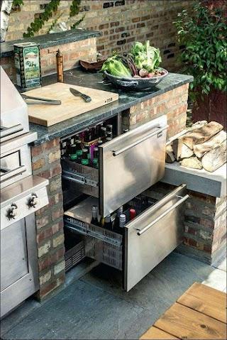 Prefab Outdoor Kitchen Grill Islands Bbq Island Kits Amazing