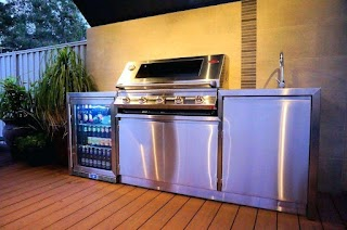 Used Outdoor Kitchen Equipment Stainless Steel Clubfreshme