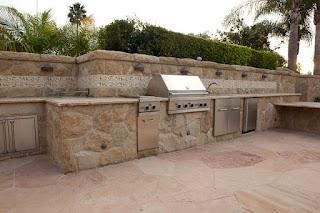 Built in Outdoor Kitchens Backyard Santa Barbara N Barbeque