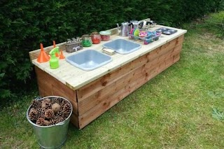 Kids Outdoor Kitchen Fun Ideas for Mud S for and Patio