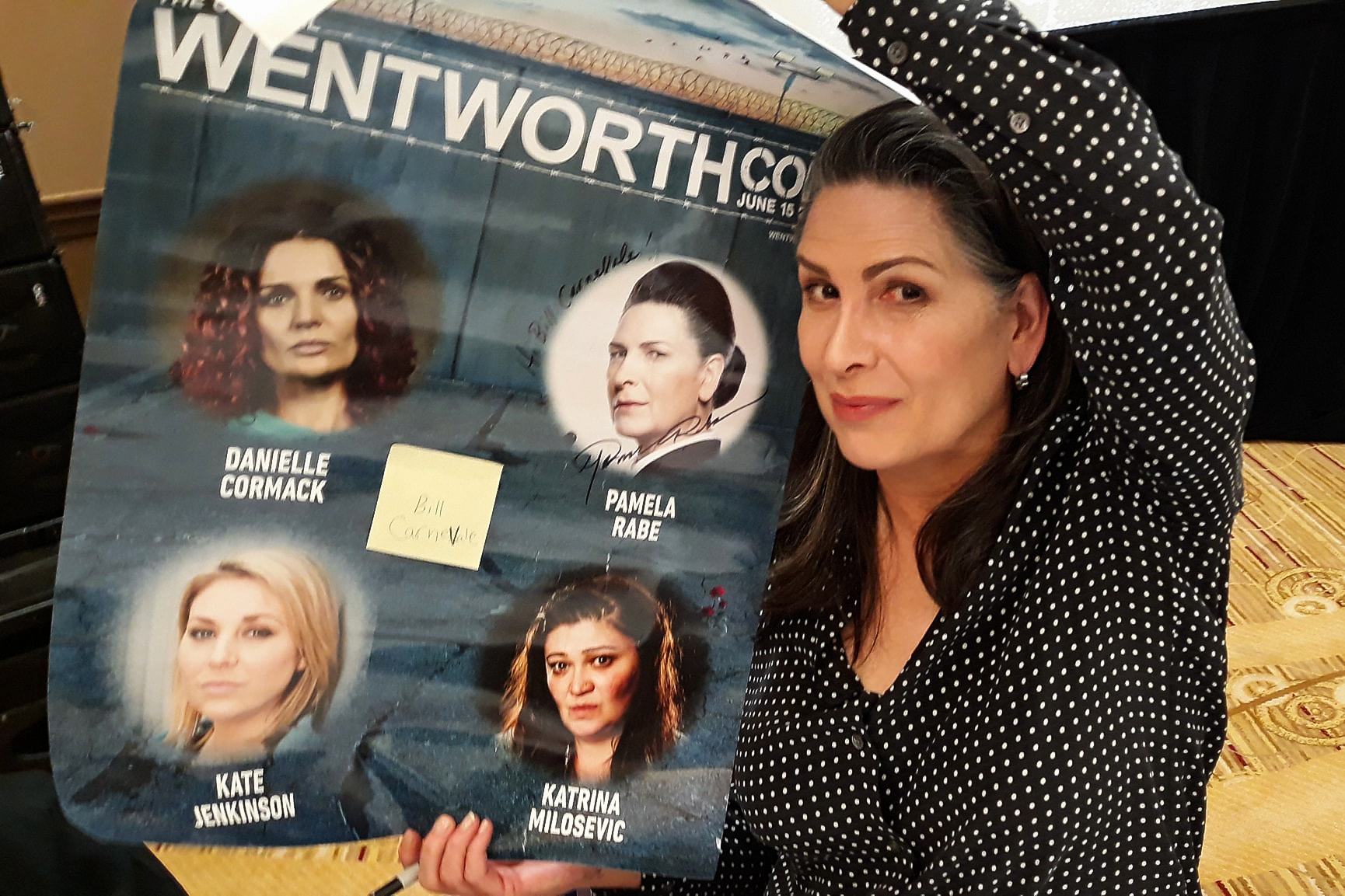 Pamela Rabe | Wentworth Con | Photo by Bill Carnavale