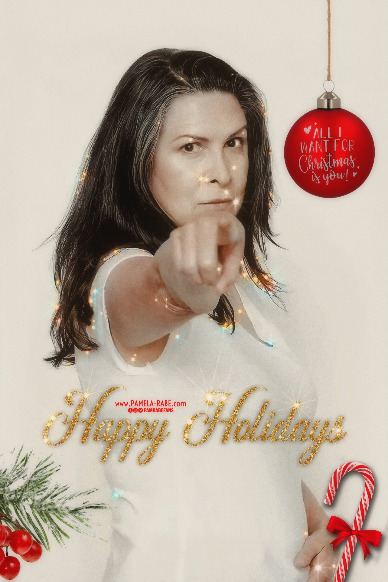 Happy Holidays 2020 from Sarina | Pamela-Rabe.com