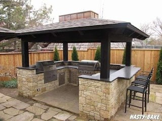 Small Outdoor Kitchen Island South Tulsa Bbq S Diy
