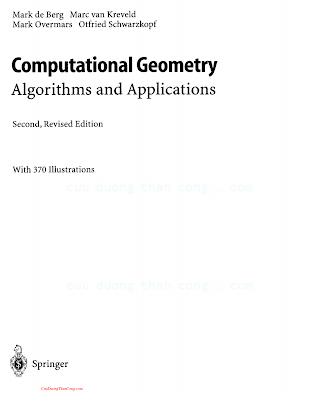 3540656200 {160C1BFB} Computational Geometry Algorithms and Applications (2nd ed.) [de Berg, van Kreveld, Overmars _ Schwarzkopf 2000-02-18].pdf