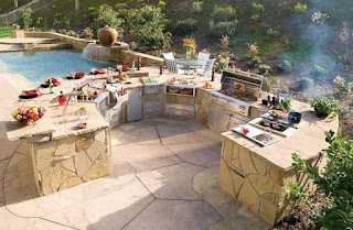 Custom Outdoor Kitchens Gas Grills