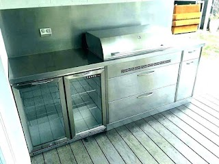 Stainless Doors for Outdoor Kitchens Steel Cabinet Kitchen Spaceinvaderme