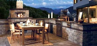 Outdoor Kitchen Fireplace Ideas The Best Decor