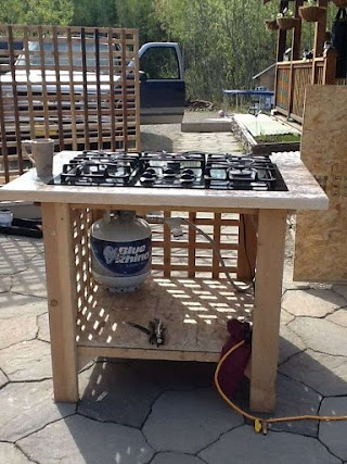 Outdoor Kitchen Stove My in 2019