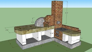 Outdoor Kitchen Design Plans Free Howtospecialist How to Build Step By
