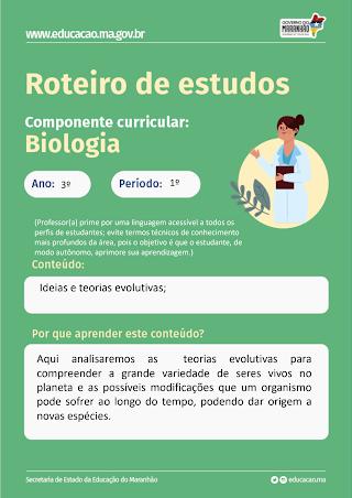 IDEIAS E TEORIAS EVOLUTIVAS