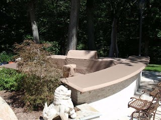 Outdoor Kitchen Island Covers Custom Grill
