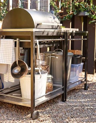 Outdoor Kitchen IKEA Create a Island Outside Dining Ideas