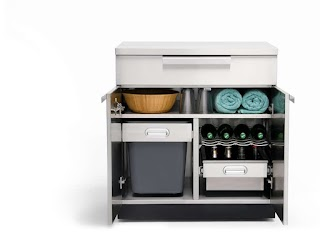 Cabinets for Outdoor Kitchen Storage Newage Products Us