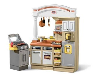 Little Tikes Indoor Outdoor Cook N Grill Kitchen Discout 22 Sizzle Serve Kitche for 14895 Buy