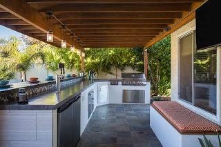 Outdoor Kitchen Phoenix Chandler Modern Home Bar By Hochuli