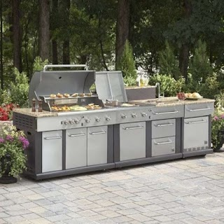 Outdoor Kitchen Lowes Kits Rock that Ocf