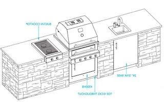 Outdoor Kitchen Plans Pdf Zitzatcom S