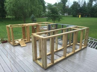 How to Frame an Outdoor Kitchen Idea for Your Boring Old Patio My House Vision