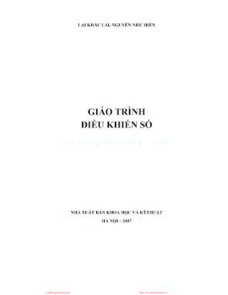 Giáo Trình Điều Khiển Số - Lại Khắc Lãi & Nguyễn Như Hiển, 139 Trang.pdf