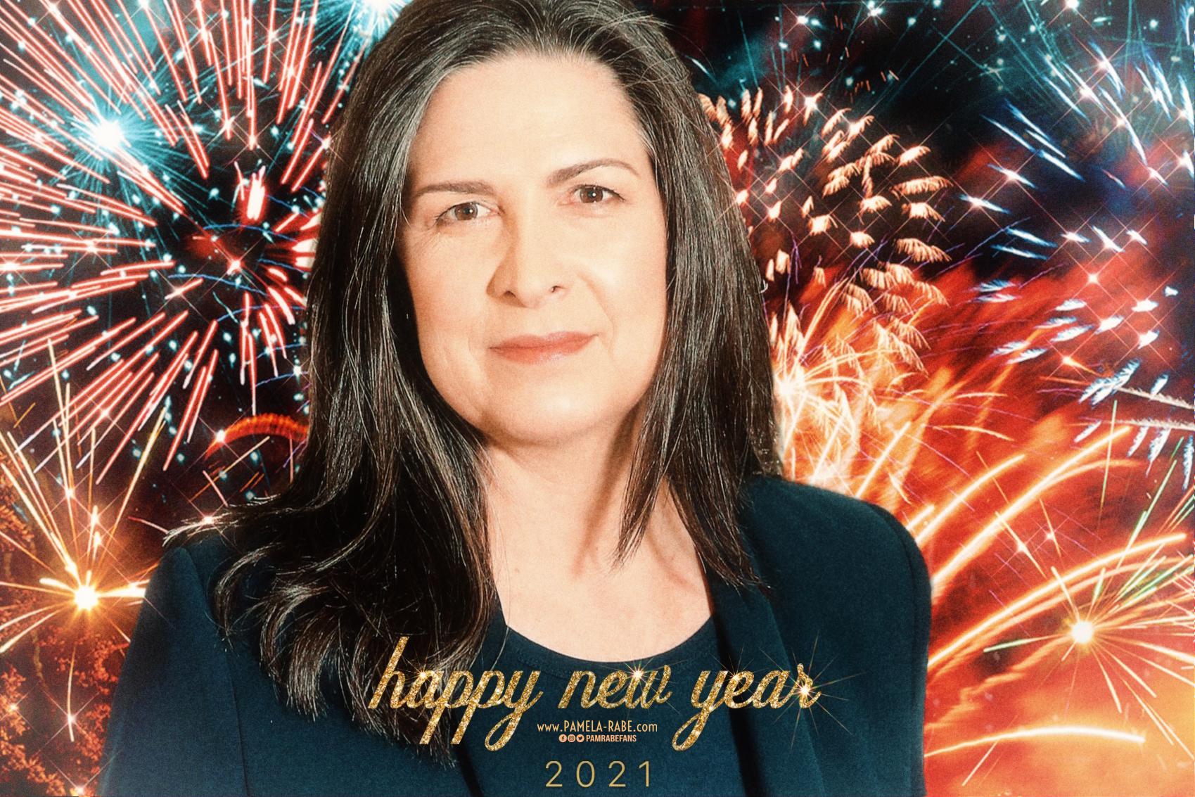 Happy New Year 2021 | www.Pamela-Rabe.com