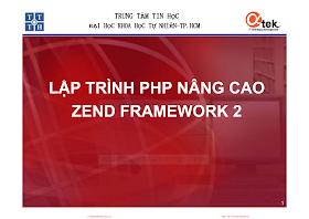 Bài giảng mô hình MVC và Zend Framework 2.pdf