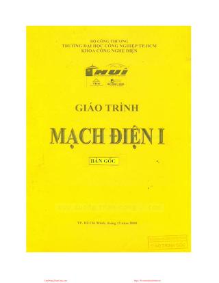 ĐHCN.Giáo Trình Mạch Điện I - Nhiều Tác Giả, 103 Trang.pdf