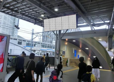 二子玉川駅 ワイドサイネージ