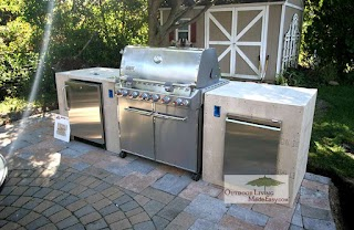 Free Standing Outdoor Kitchens Custom 2013 Custom Built for Weber Grill