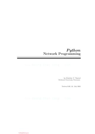 Python Network Programming.pdf