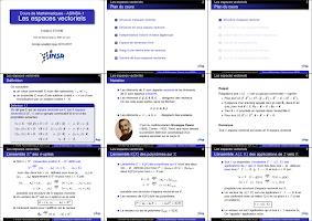 fiche sur les espaces vectoriels université de Lyon.pdf