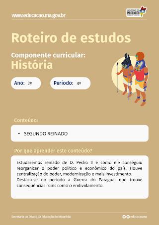O SEGUNDO REINADO NO BRASIL