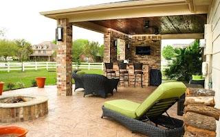 Outdoor Kitchen and Patio S Houston Dallas Katy Cinco Ranch Texas Custom