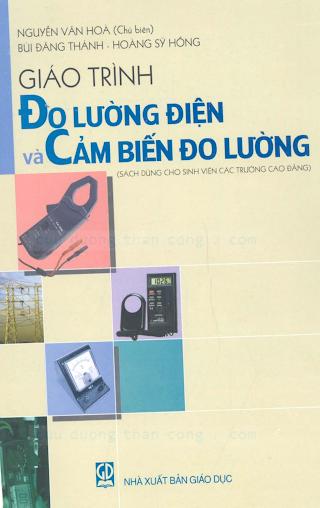 Giáo Trình Đo Lường Và Cảm Biến Đo Lường - Nguyễn Văn Hòa, 390 Trang.pdf
