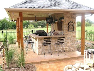 Outdoor Kitchen Structures Garden Designs Full Size of Grill