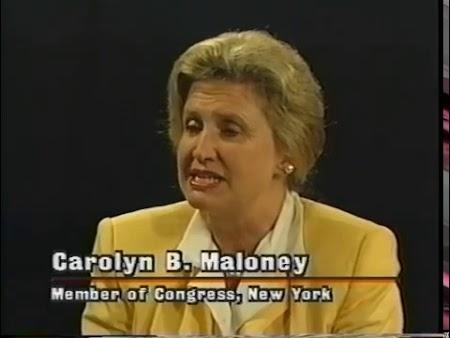 Carolyn Maloney (Original Airdate 9/29/1996)