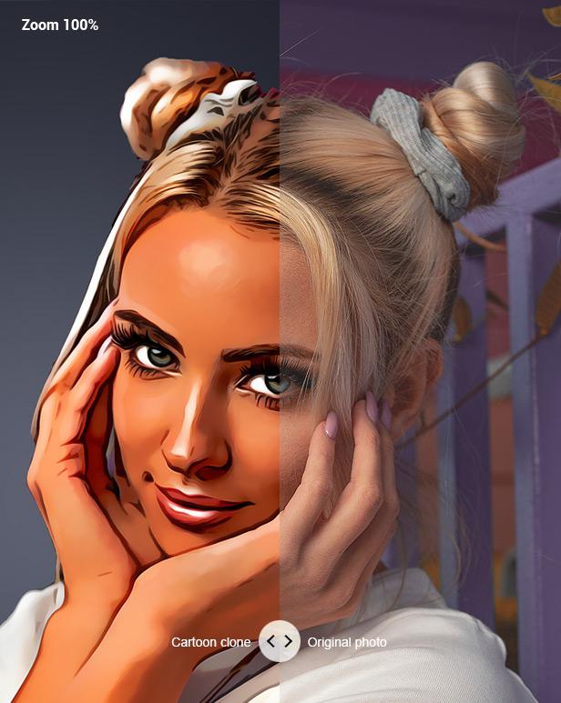 Cartoon Maker - Clone - Photoshop Plugin - 11