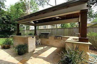 Covered Outdoor Kitchen with Built in Grill Tedxoakville Home Blog